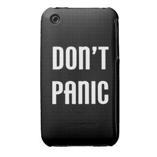 No se atierre iPhone 3 funda