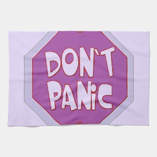 No se atierre toallas de mano