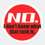No sé cuáles es esa roca (el rojo) etiqueta