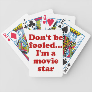 No se engañe… Soy estrella de cine Barajas De Cartas