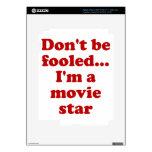 No se engañe… Soy estrella de cine iPad 3 Skins