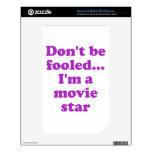 No se engañe… Soy estrella de cine NOOK Color Calcomanía