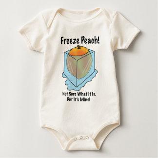 No sé es qué melocotón del helada body de bebé
