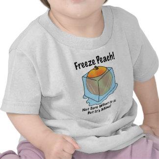 No sé es qué melocotón del helada camiseta