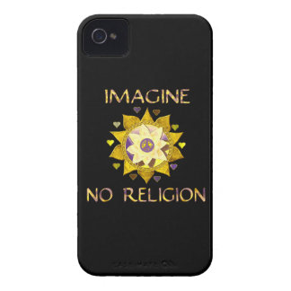 No se imagine ninguna religión iPhone 4 Case-Mate fundas