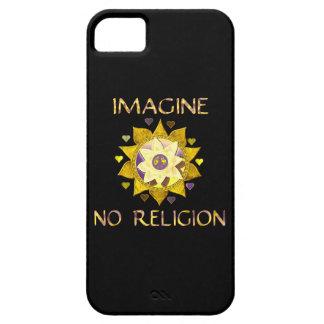 No se imagine ninguna religión iPhone 5 carcasas