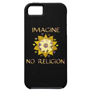 No se imagine ninguna religión funda para iPhone 5 tough