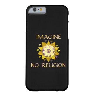 No se imagine ninguna religión funda para iPhone 6 barely there