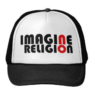 No se imagine ninguna religión gorras de camionero