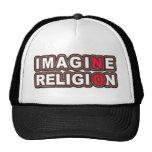 No se imagine ninguna religión gorro