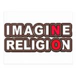 No se imagine ninguna religión postal