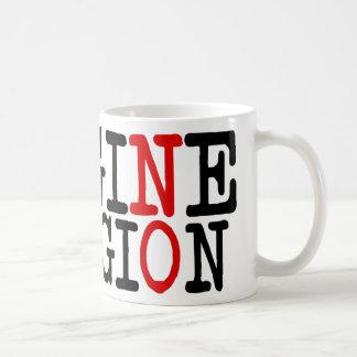 No se imagine ninguna religión tazas de café