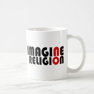 No se imagine ninguna religión tazas