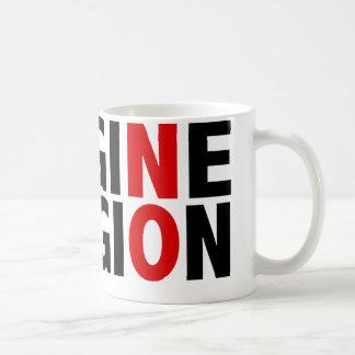 No se imagine ninguna religión taza de café