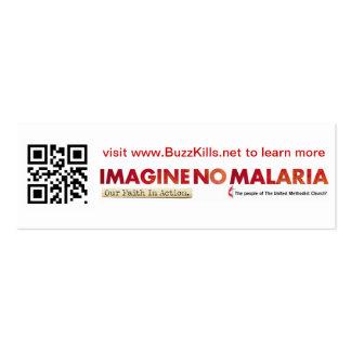 No se imagine ninguna tarjeta de la malaria Info Plantillas De Tarjeta De Negocio