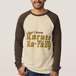 No sé karate playera