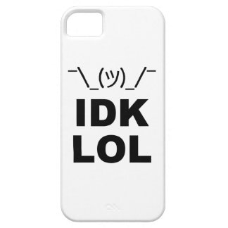 No sé LOL iPhone 5 Carcasa