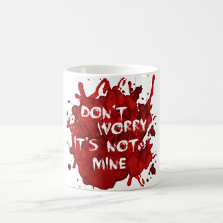 No se preocupe él no es mina tazas de café