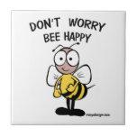 No se preocupe la abeja feliz azulejos