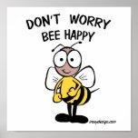 No se preocupe la abeja feliz impresiones