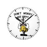 No se preocupe la abeja feliz relojes