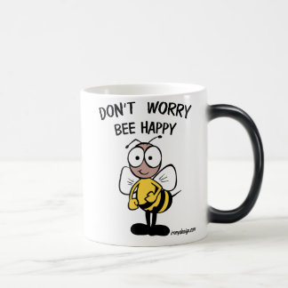 No se preocupe la abeja feliz taza mágica