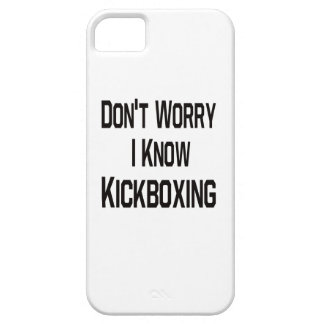 No se preocupe me conocen Kickboxing iPhone 5 Case-Mate Protector