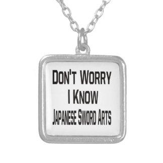 No se preocupe me saben artes japoneses de la collares personalizados