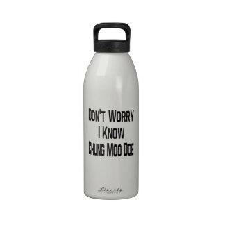 No se preocupe me saben la gama del MOO de Botellas De Agua Reutilizables