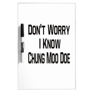 No se preocupe me saben la gama del MOO de Tablero Blanco