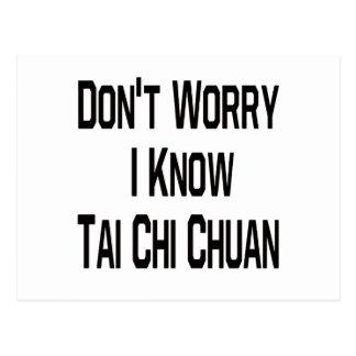 No se preocupe me saben la ji Chuan del Tai Postal
