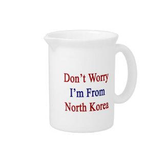 No se preocupe me son de Corea del Norte Jarras
