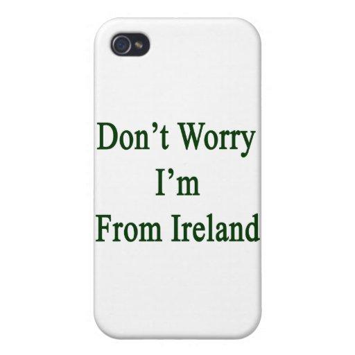 No se preocupe me son de Irlanda iPhone 4 Coberturas