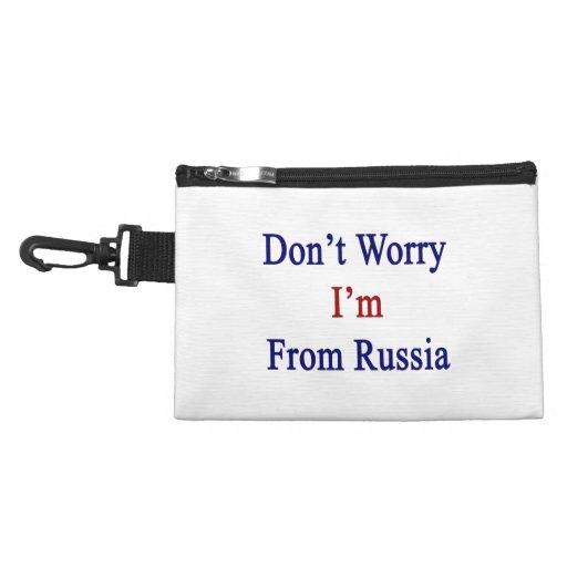 No se preocupe me son de Rusia