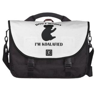No se preocupe me son Koalafied Bolsas Para Ordenador