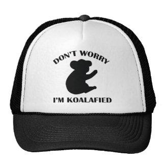 No se preocupe me son Koalafied Gorro