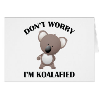 No se preocupe me son Koalafied Tarjetón
