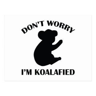No se preocupe me son Koalafied Postal