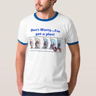 ¡No se preocupe… me tienen un plan! Camisas