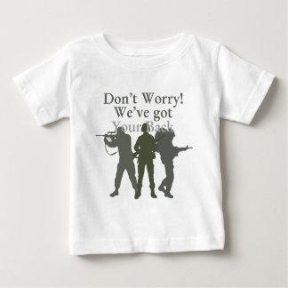 No se preocupe, nosotros tienen su parte posterior t-shirts