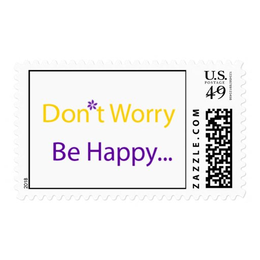 No se preocupe, sea sello feliz
