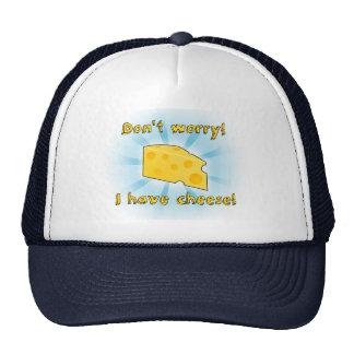 ¡No se preocupe! ¡Tengo queso! Gorros