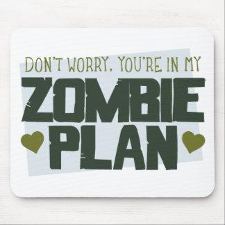 No se preocupe - usted está en mi plan del zombi tapete de raton
