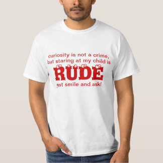 No sea camisa grosera