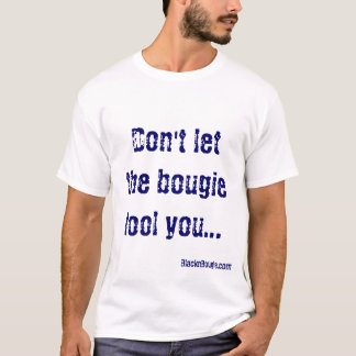 No sea camiseta engañada