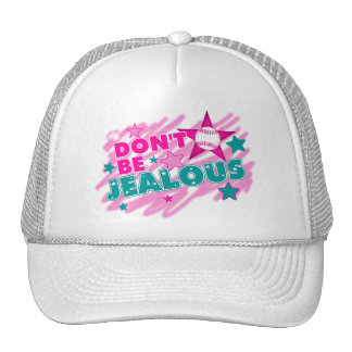 No sea celoso - softball gorras