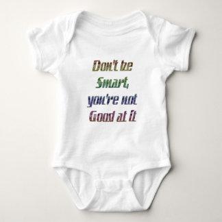 No sea elegante, usted con referencia a no bueno body para bebé