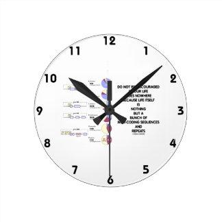 No sea secuencias desalientadoras de la No-Codific Relojes