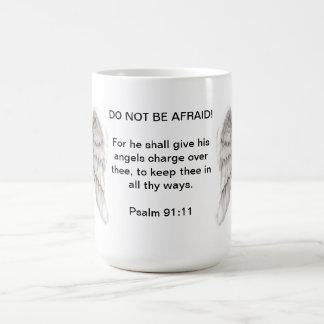 No sea taza asustada
