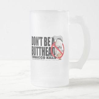 No sea un Butthead Tazas De Café